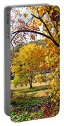 Fall Trees 4 Of Wnc Portable Battery Charger