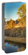 Fall Trees Portable Battery Charger