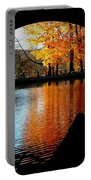 Fall Under The Bridge Portable Battery Charger