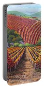 Fall Vineyard Portable Battery Charger