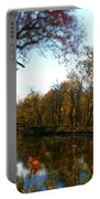 Fall Water Reflections Portable Battery Charger