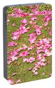Fallen Rhododendron Portable Battery Charger