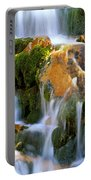Fallin' Water Portable Battery Charger