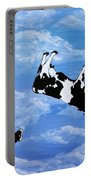Falling Cows Portable Battery Charger