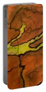 Falling Man Rock Art Portable Battery Charger