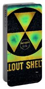 Fallout Shelter Abstract 2 Portable Battery Charger