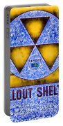 Fallout Shelter Abstract 4 Portable Battery Charger