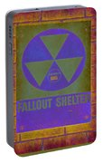 Fallout Shelter Abstract Portable Battery Charger