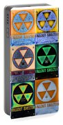 Fallout Shelter Mosaic Portable Battery Charger