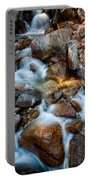 Falls And Rocks Portable Battery Charger