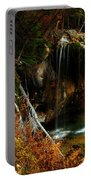 Falls At Hanging Lake Portable Battery Charger