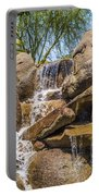 Falls At Jackalope Ranch Portable Battery Charger
