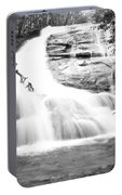 Falls Branch Falls Portable Battery Charger by Valeria Donaldson