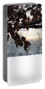 Falls Colors At First Snowfall Portable Battery Charger