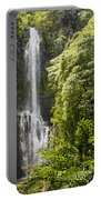 Falls On The Road To Hana Portable Battery Charger