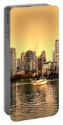 False Creek Triptych Centre Panel Portable Battery Charger