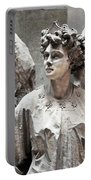 Famiglia Cavaliere Del Francesco Canti Memorial Marker Detail IIi Monumental Cemetery Portable Battery Charger