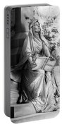 Famiglia Dell Acqua Memorial Marker II Bw Monumental Cemetery Portable Battery Charger