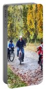 Family Bike Ride Portable Battery Charger