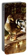 Family Of Ducks Portable Battery Charger
