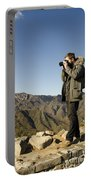 Family On The Great Wall Portable Battery Charger