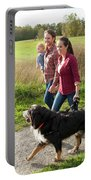 Family Portraits Portable Battery Charger