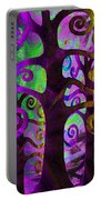 Family Struggle 2 Portable Battery Charger by Angelina Vick