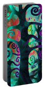Family Struggle 3 Portable Battery Charger by Angelina Vick