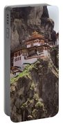 Famous Tigers Nest Monastery Of Bhutan 12 Portable Battery Charger