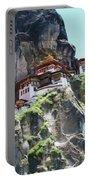 Famous Tigers Nest Monastery Of Bhutan 7 Portable Battery Charger
