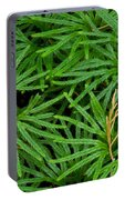 Fan Club Moss Foliage Portable Battery Charger