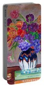 Fanciful Bouquet Portable Battery Charger