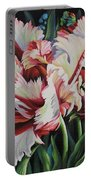 Fancy Parrot Tulips Portable Battery Charger