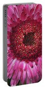 Fancy Pink Daisy Portable Battery Charger
