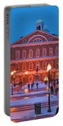 Faneuil Hall Holiday- Boston Portable Battery Charger