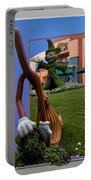 Fantasia Mickey And Broom Floral Walt Disney World Hollywood Studios Portable Battery Charger
