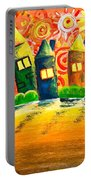 Fantasy Art - The Village Festival Portable Battery Charger
