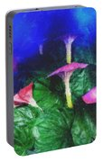 Fantasy Flowers Pastel Chalk 2 Portable Battery Charger