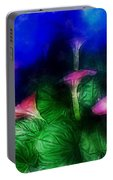 Fantasy Flowers Traveling Pigments Hp Portable Battery Charger