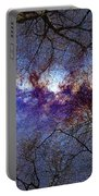 Fantasy Stars Milkyway Through The Trees Portable Battery Charger