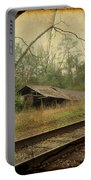 Far Side Of The Tracks Portable Battery Charger