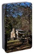Farm Cabin Cades Cove Tennessee Portable Battery Charger