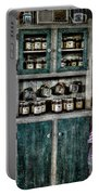 Farm Cupboard Portable Battery Charger by David Morefield