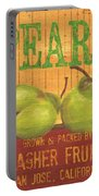 Farm Fresh Fruit 1 Portable Battery Charger by Debbie DeWitt