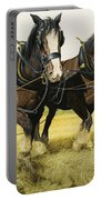 Farm Horses Portable Battery Charger