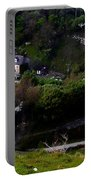 Farm Land In The Peak District In Great Britain Portable Battery Charger