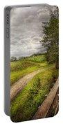 Farm - Landscape - Jersey Crops Portable Battery Charger
