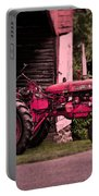 Farmall 200 Portable Battery Charger by Robert Geary