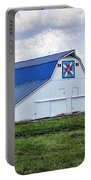 Farmers Daughter Quilt Barn Portable Battery Charger by Cricket Hackmann