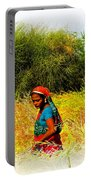 Farmers Fields Harvest India Rajasthan 2a Portable Battery Charger